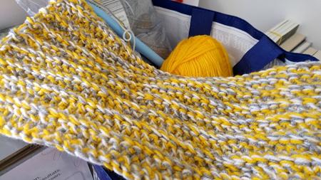 crochet oversized scarf
